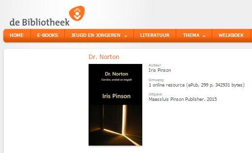 Dr. Norton - Iris Pinson